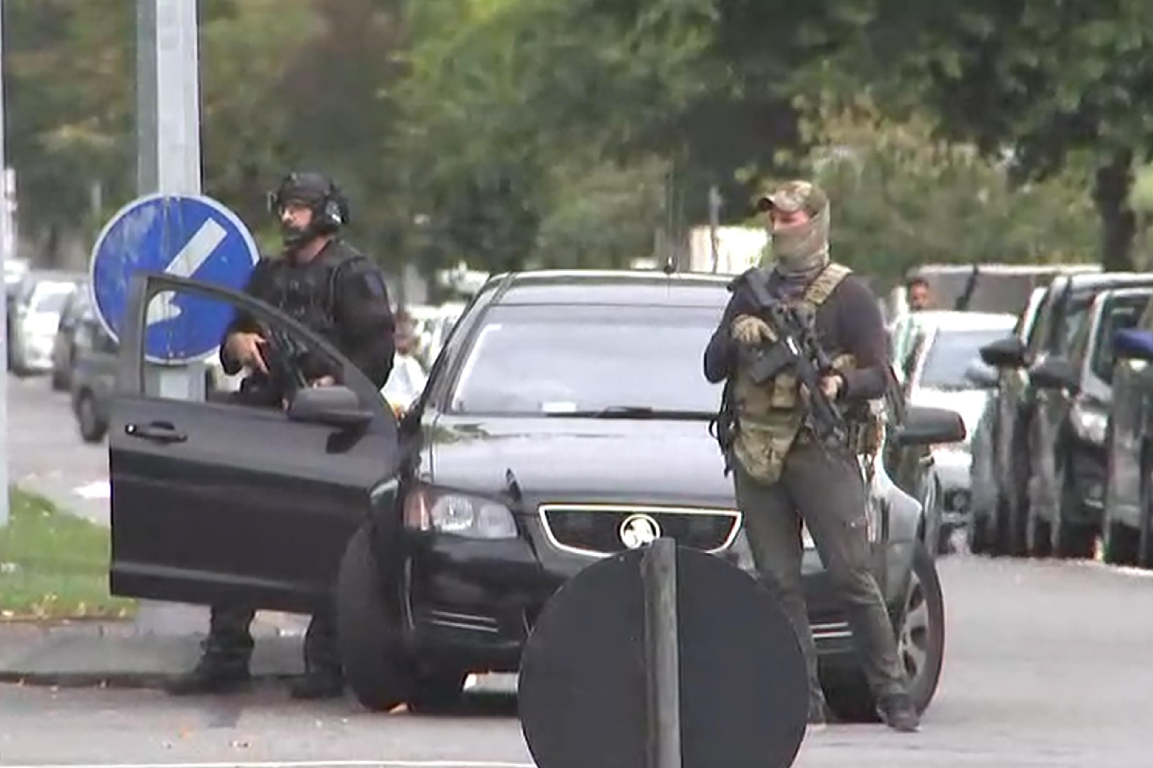 Neuseeland Attentat Image: Attentat Contre Deux Mosquées En Nouvelle-Zélande, En