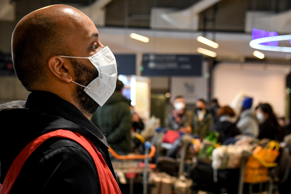 masque infection respiratoire