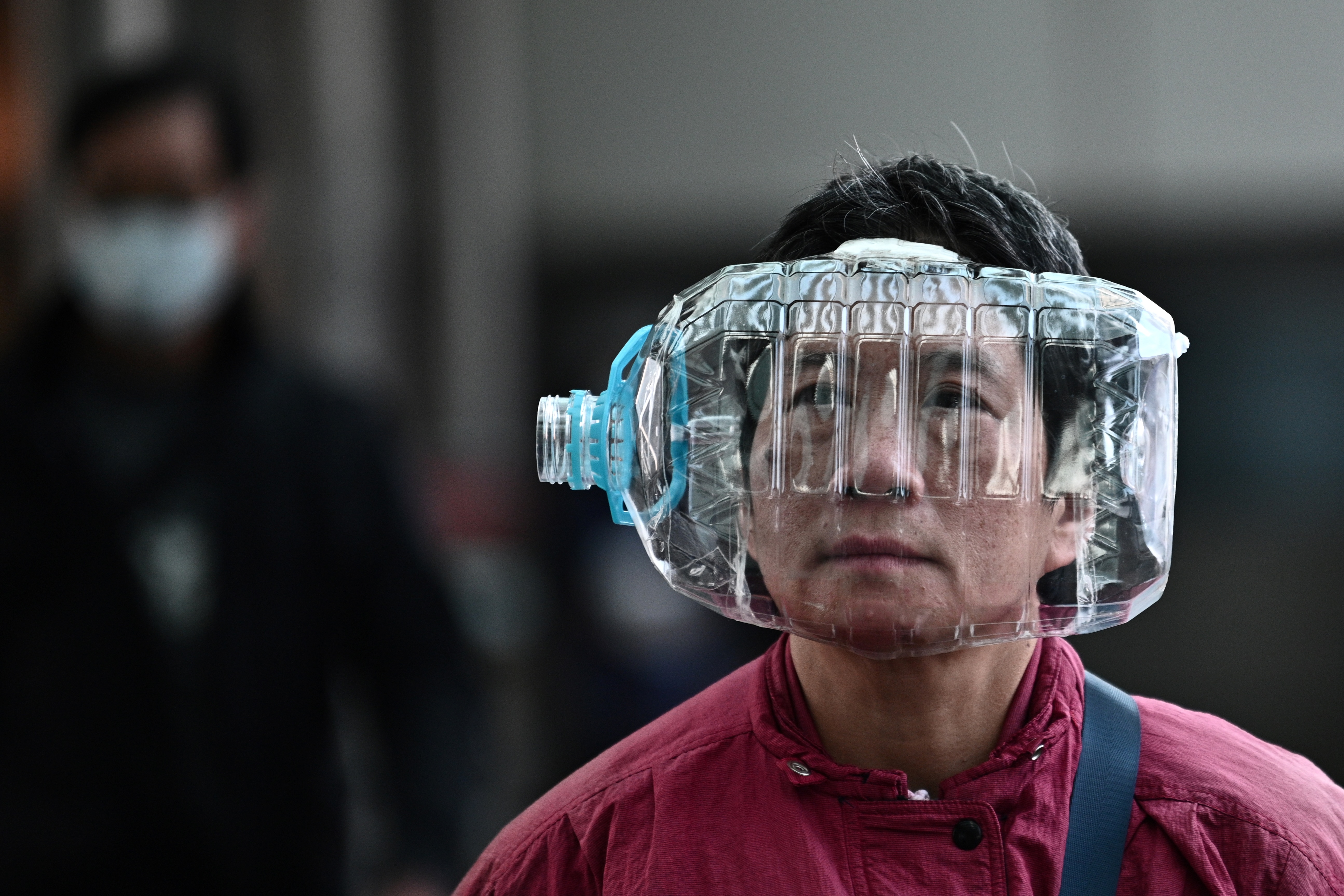 masque anti chinois
