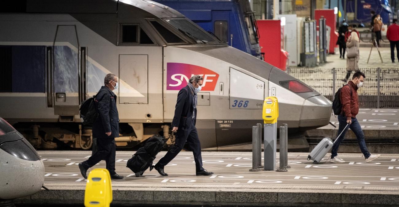 Coronavirus : est-il dangereux de prendre le train ?