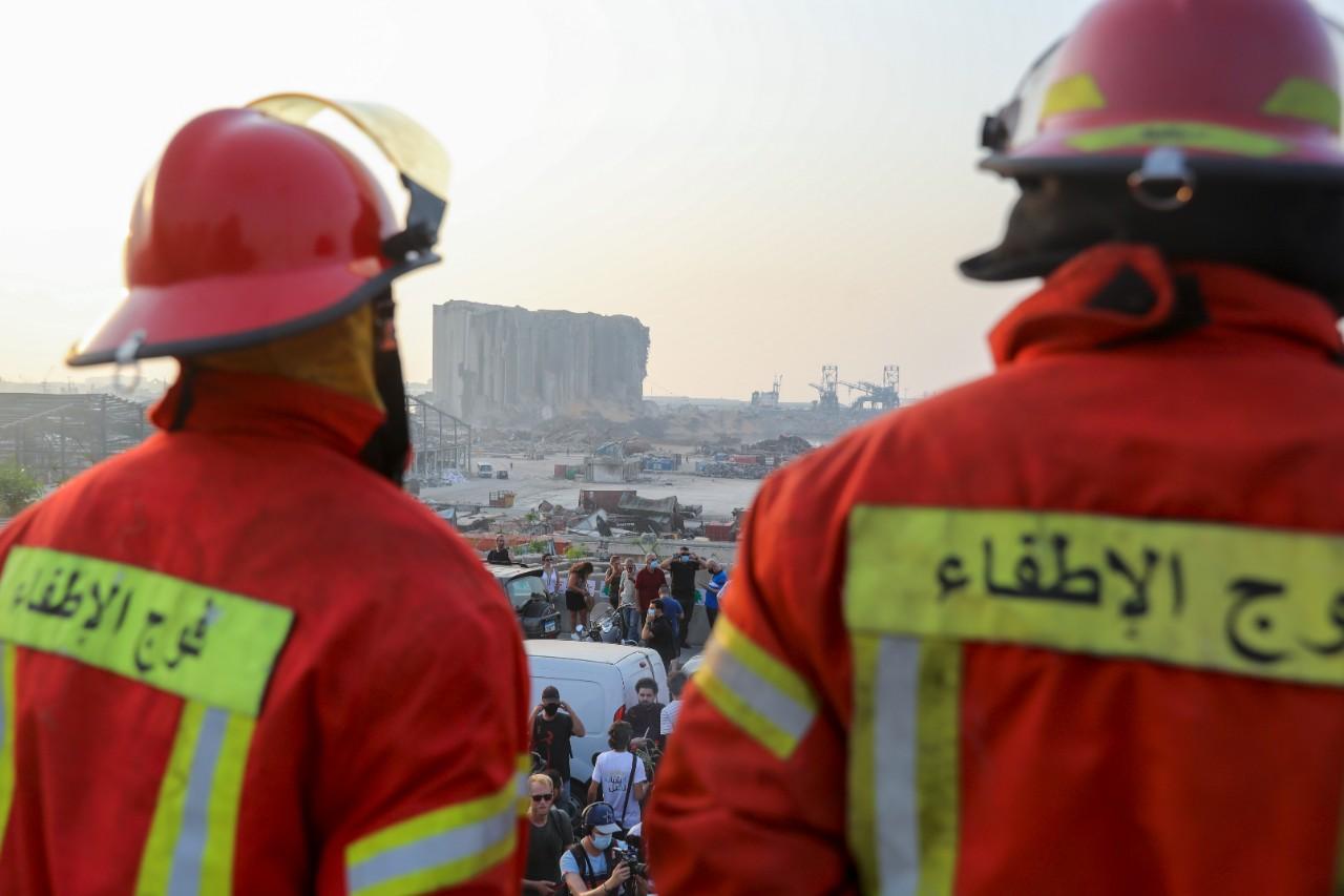 Explosion à Beyrouth : un mois après, un potentiel survivant sous les décombres