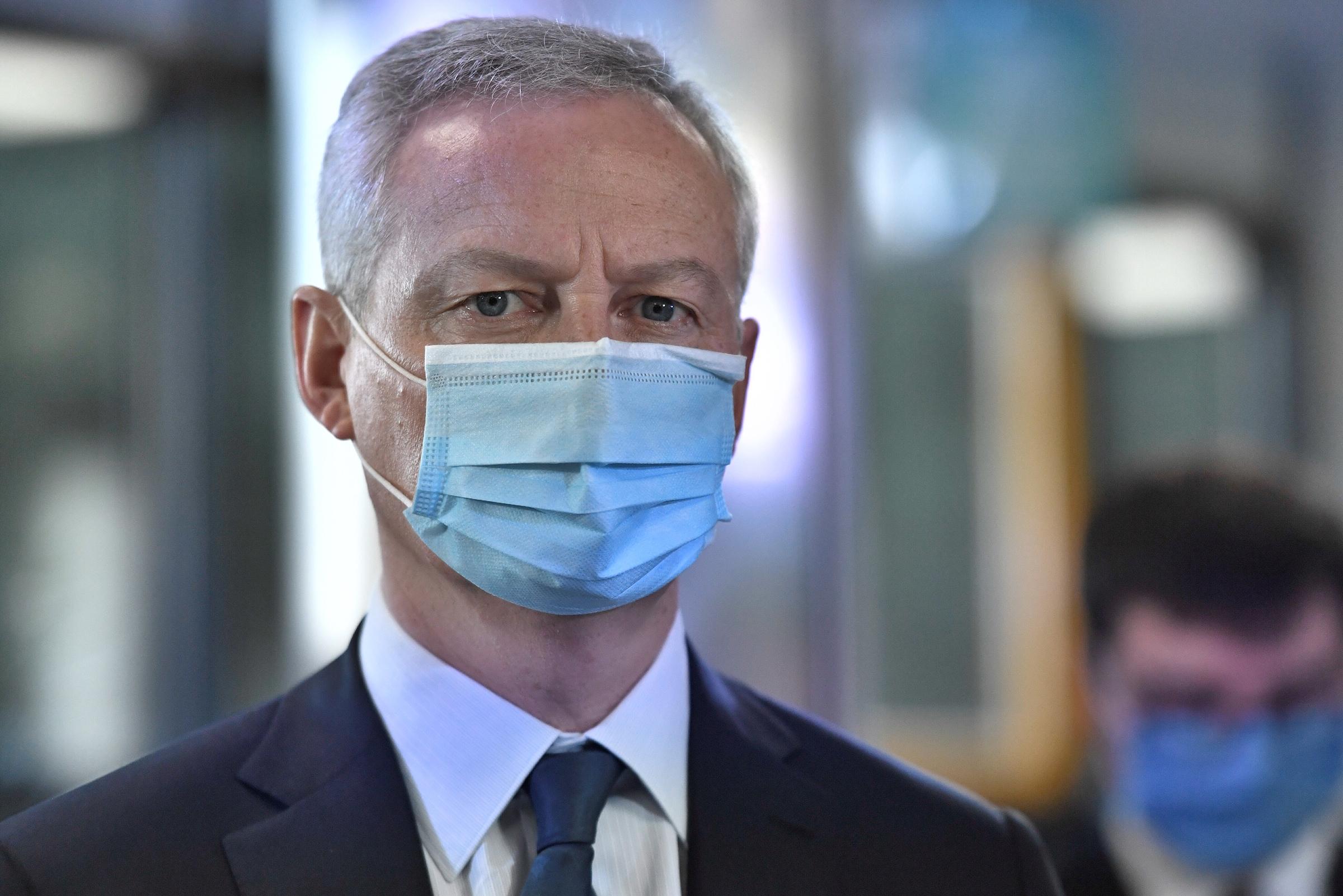 Coronavirus : le ministre de l'Economie Bruno Le Maire testé positif