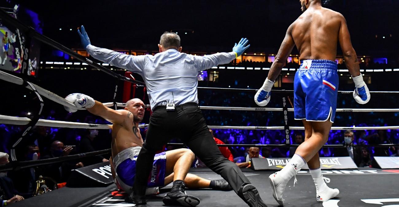 Vidéo : Tony Yoka met KO Johann Duhaupas dès le 1er round