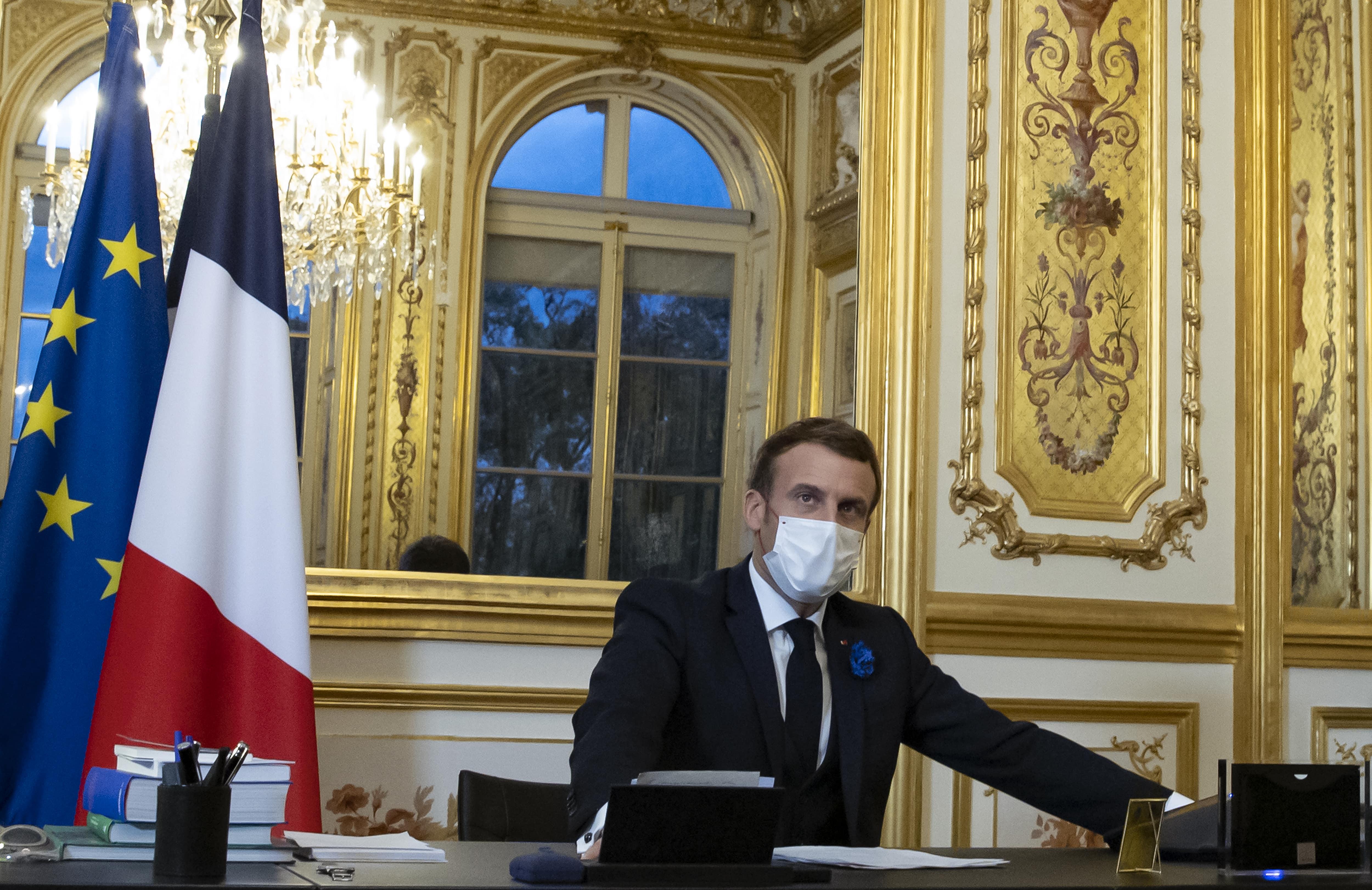 «Grande convergence de vues» entre Emmanuel Macron et Joe Biden, notamment sur le Covid -19 et le climat