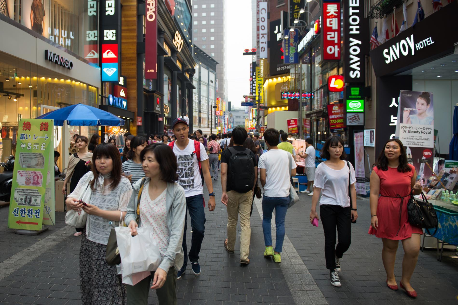 Brancher des bars à Séoul