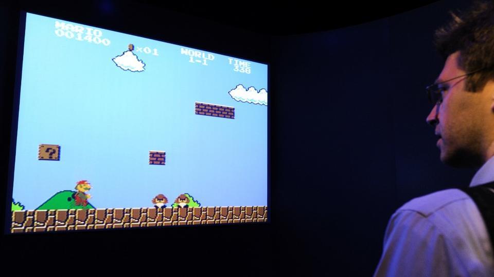 Un exemplaire de Super Mario Bros vendu 114.000 dollars, un record