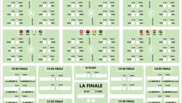 Calendrier Coupe Dafrique 2021 Pdf Téléchargez le calendrier de la Coupe d'Afrique des Nations 2019