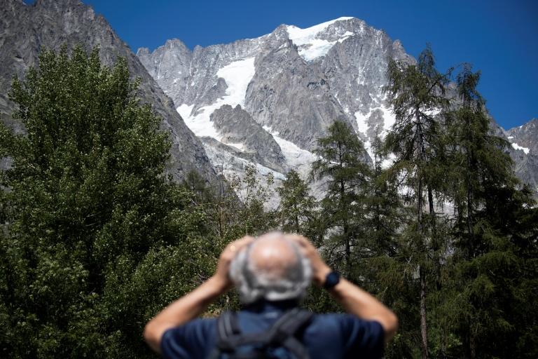 Italie : un glacier du Mont-Blanc sur le point de s'effondrer