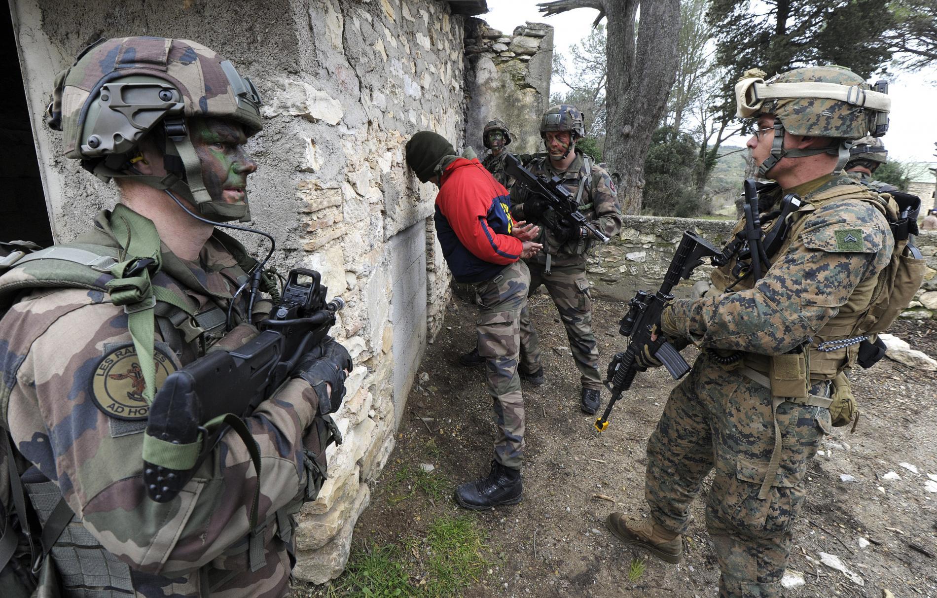 Capture de Geronimo: un exercice militaire franco