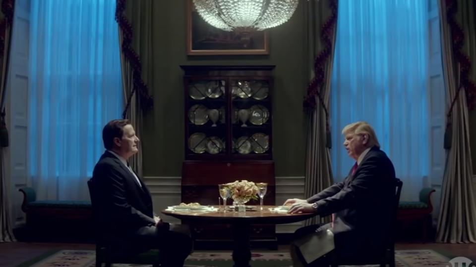 Vidéo : les premières images de la série sur Donald Trump et James Comey