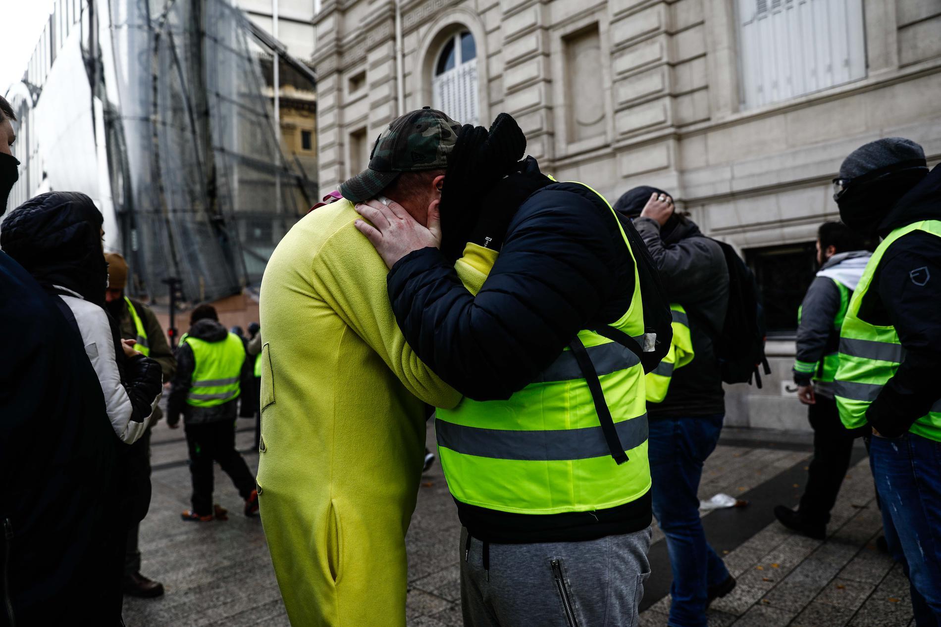 gilets jaunes mouvement social