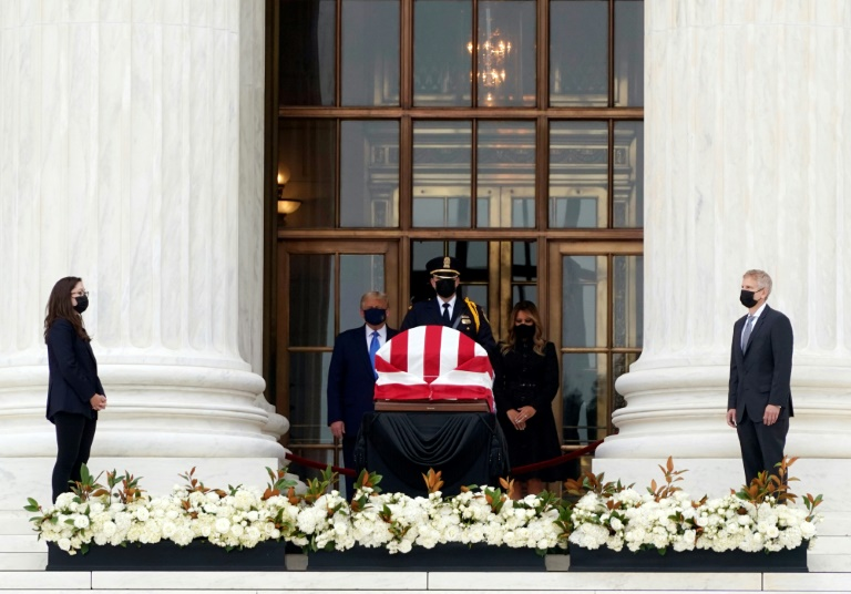 Hommage à Ruth Bader Ginsburg : Donald Trump hué