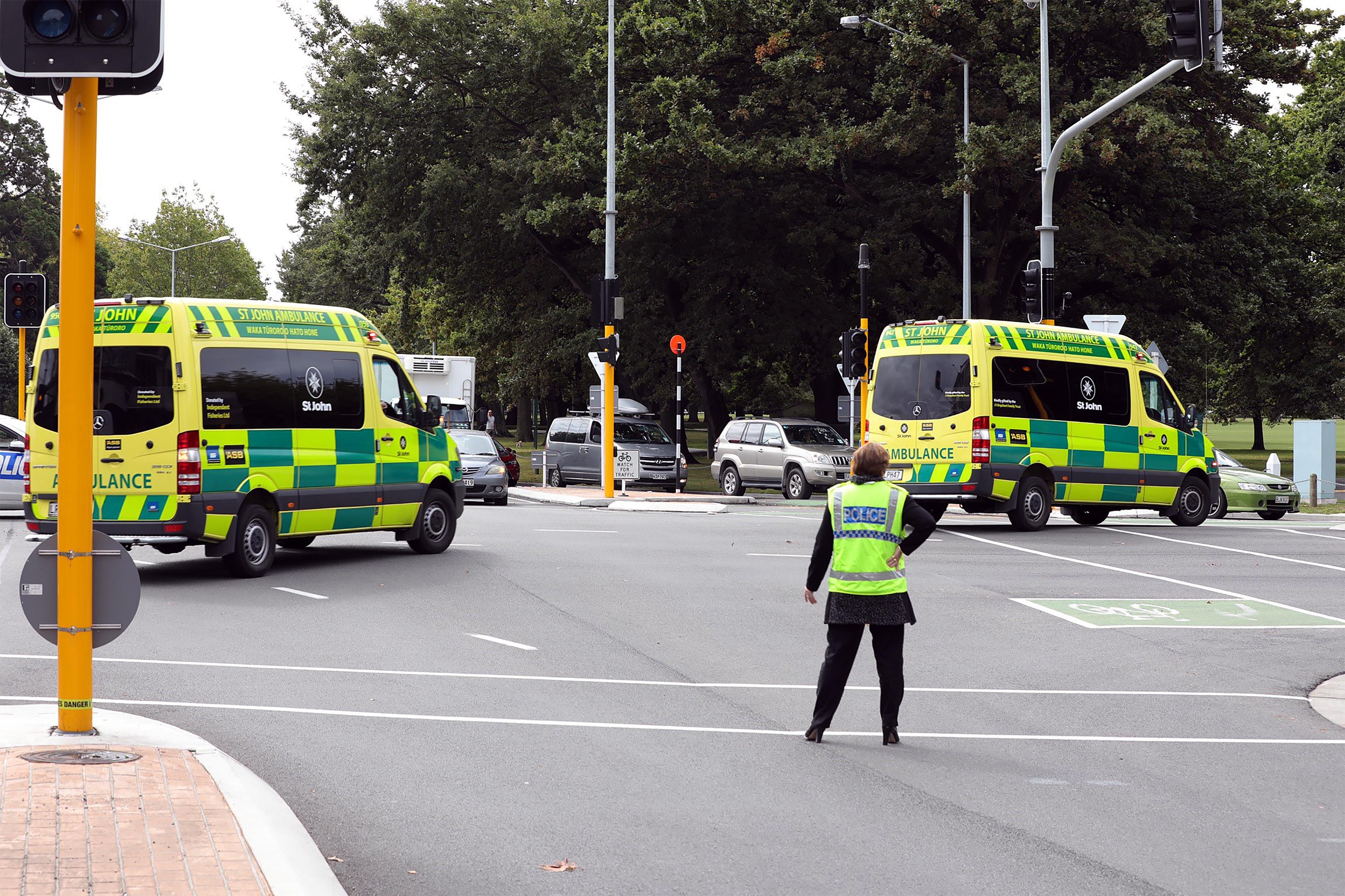 Attentat Christchurch Hd: Attentat De Christchurch, En Direct : L'attaquant De La