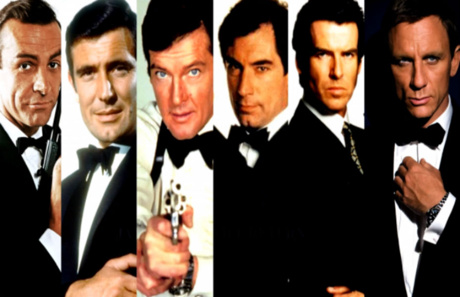 James Bond : six acteurs et six styles bien différents