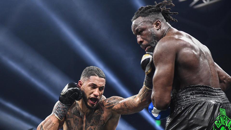«La douleur (au nez) était trop forte» : Joël Tambwe Djeko revient sur son abandon face à Tony Yoka - CNEWS