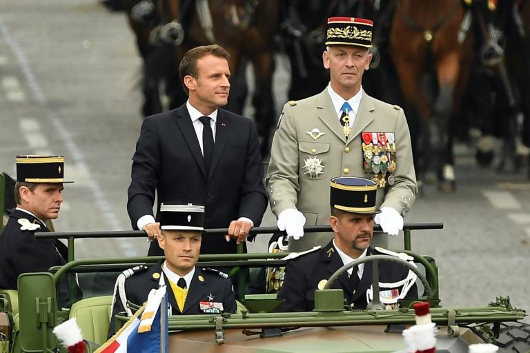 14 juillet : Macron sifflé à l'ouverture du défilé sur les Champs ...