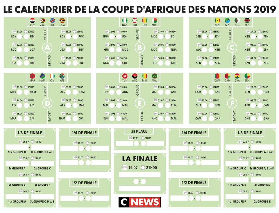 Calendrier Egyptien.Telechargez Le Calendrier De La Coupe D Afrique Des Nations