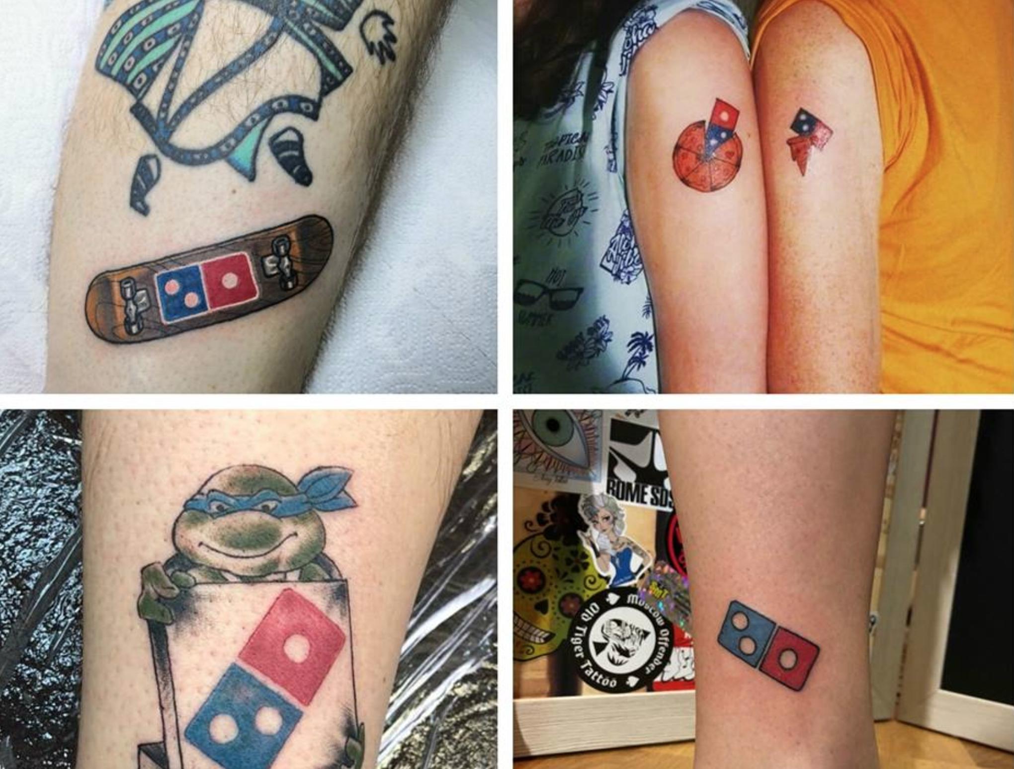 10 000 Pizzas Gratuites En échange D Un Tatouage Du Logo