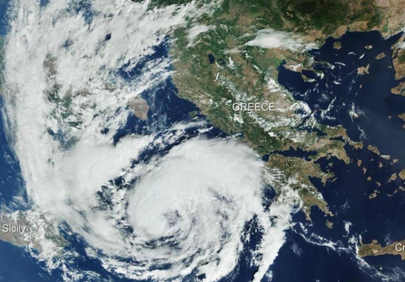 «Médicane», un rare ouragan méditerranéen menace l'Europe