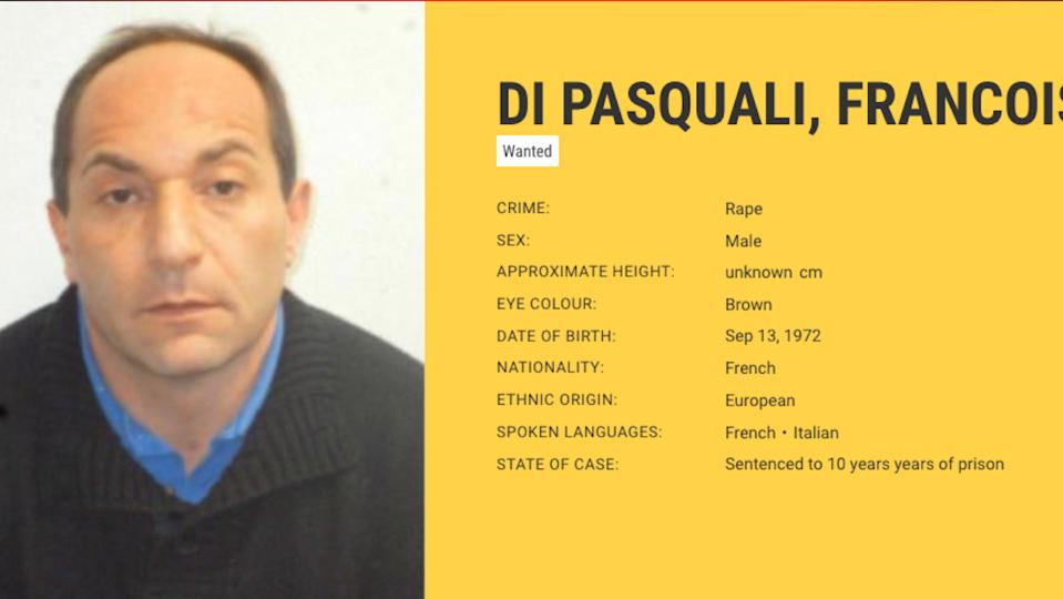 «Most Wanted» : François di Pasquali, en cavale depuis 4 ans, recherché par Europol