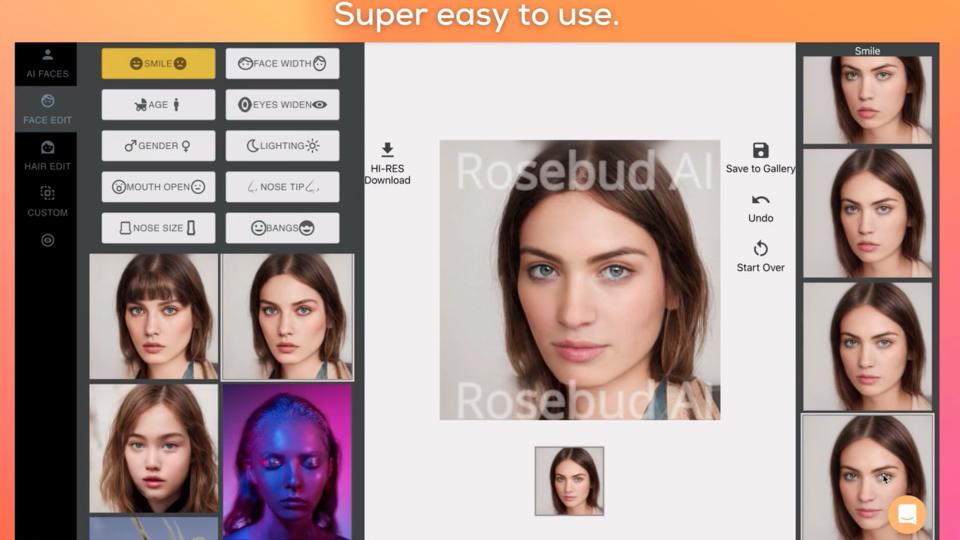 L'intelligence artificielle permet de créer des visages plus vrais que nature