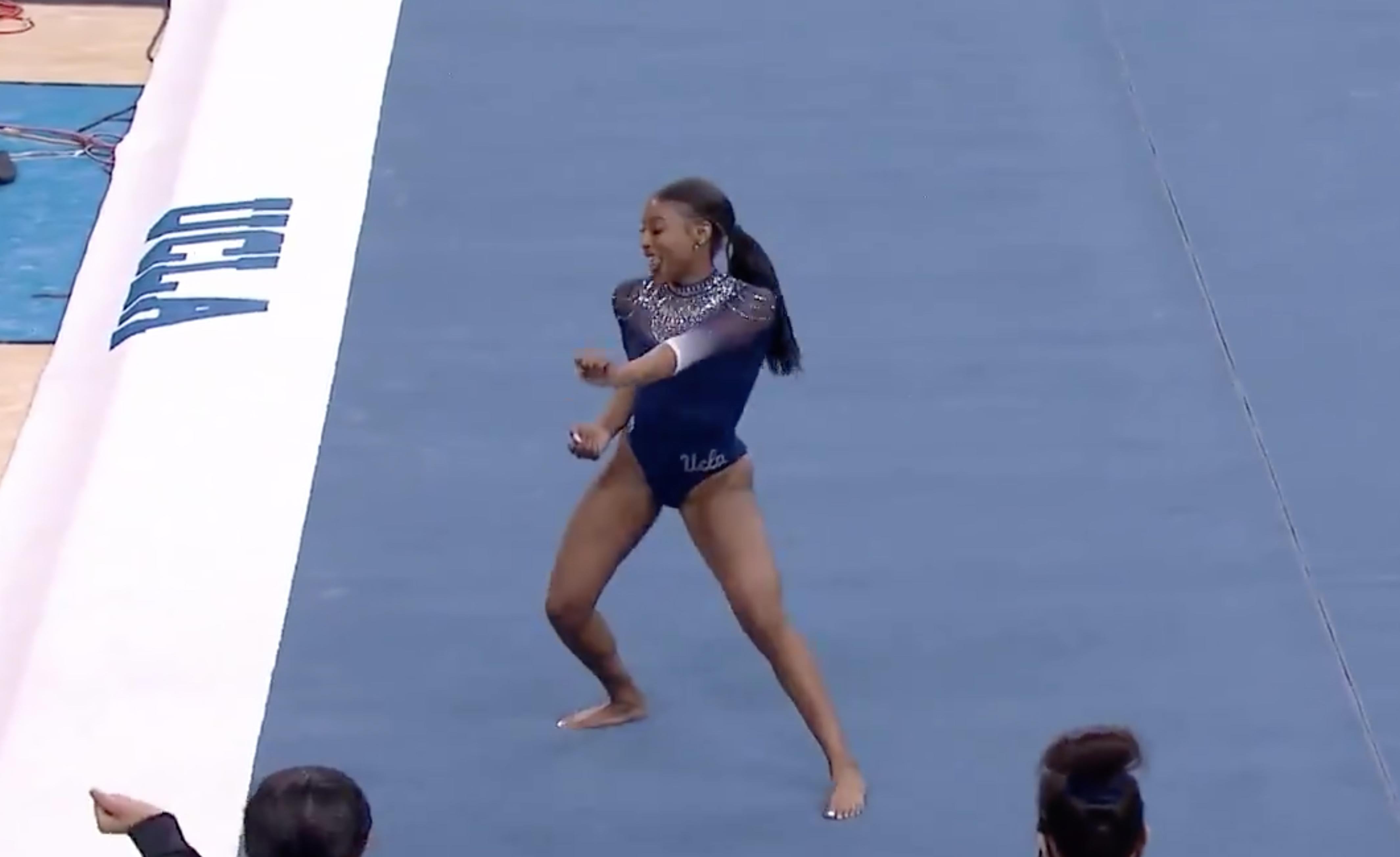 Vidéo : l'incroyable performance de cette gymnaste fait le tour du monde