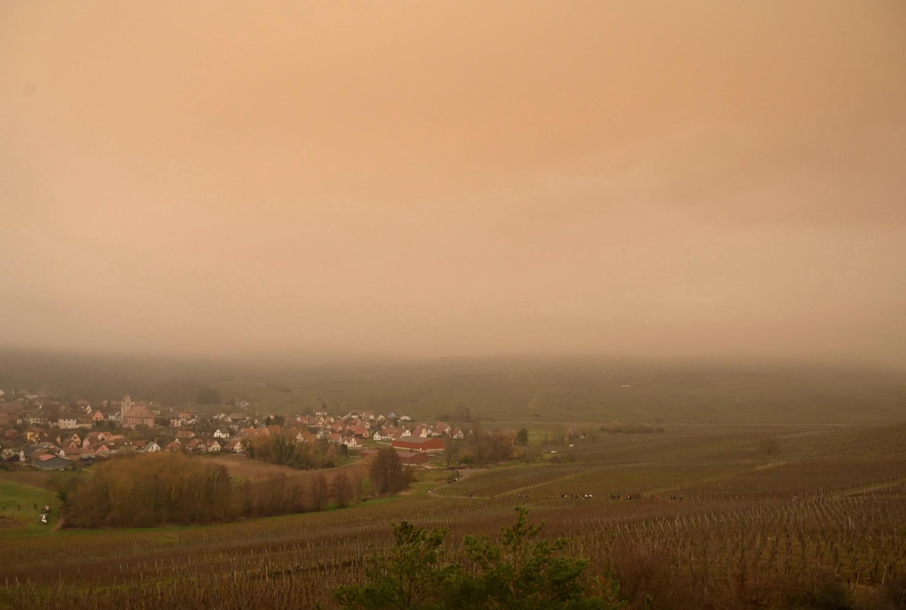 Sable du Sahara : fin de l'alerte pollution dans une partie de l'est de la France