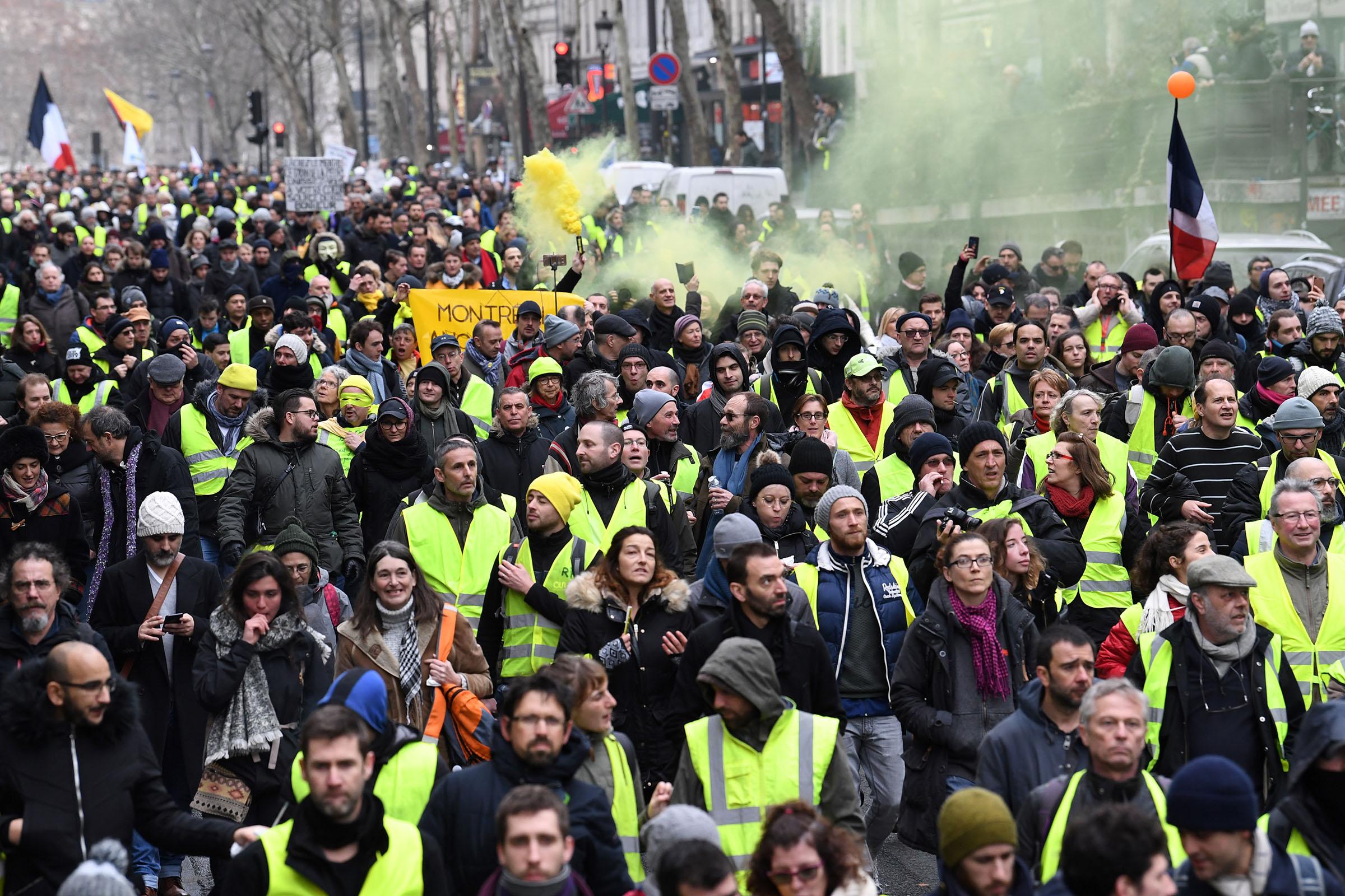 foto de Gilets jaunes : à quoi faut il s attendre pour l'acte 12