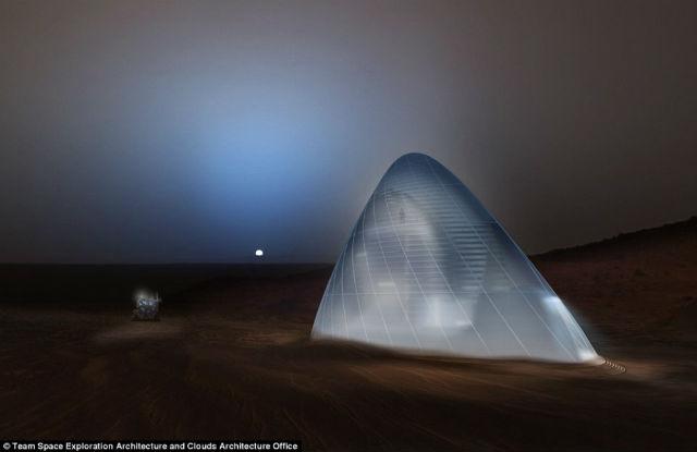Une maison igloo pour vivre sur mars récompensée par la nasa www