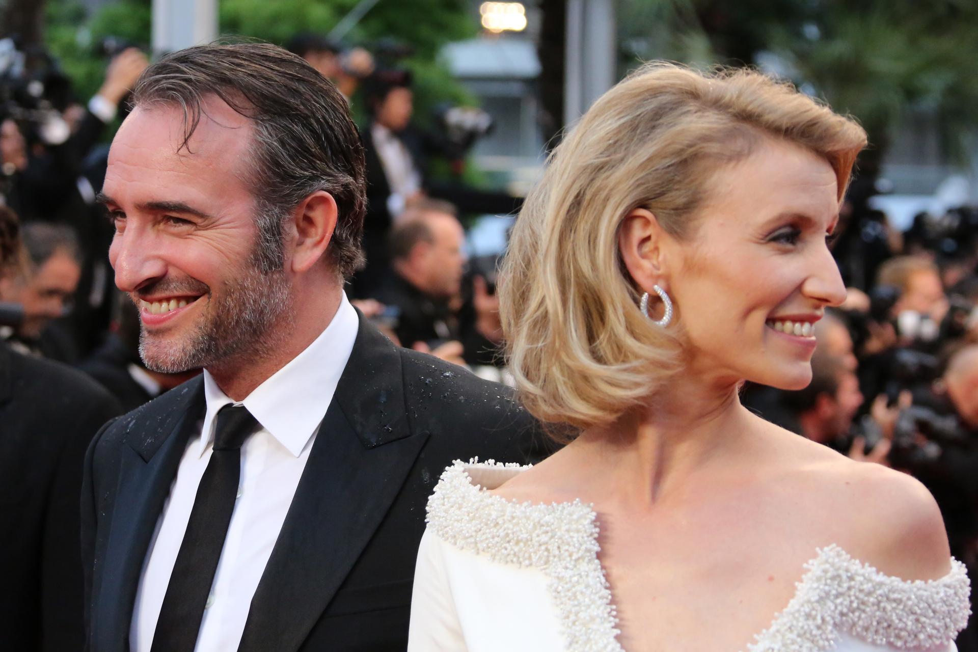 Jean dujardin et alexandra lamy officiellement s par s for Alexandre dujardin