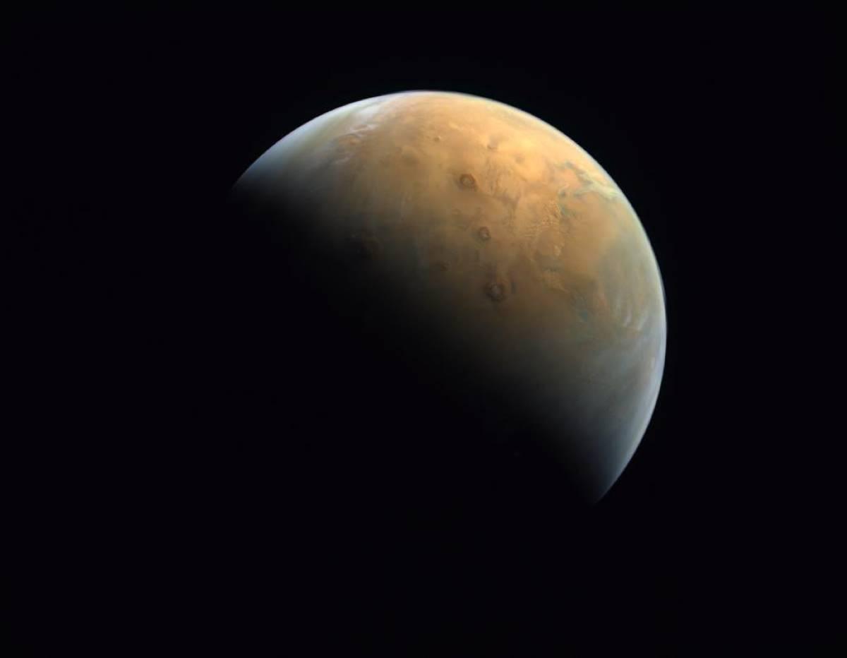 Espace : la superbe photo de Mars transmise par la sonde ...