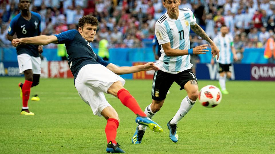 La frappe de benjamin pavard contre l 39 argentine lue plus - Les plus beau but de la coupe du monde ...