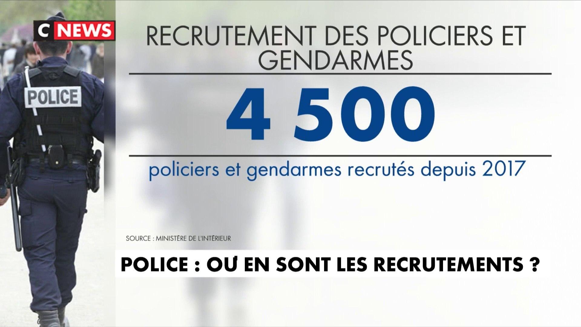 Police : où en sont les recrutements ?