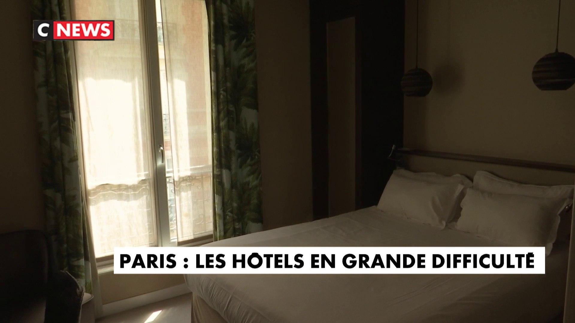 Tourisme : les hôtels parisiens en grande difficulté