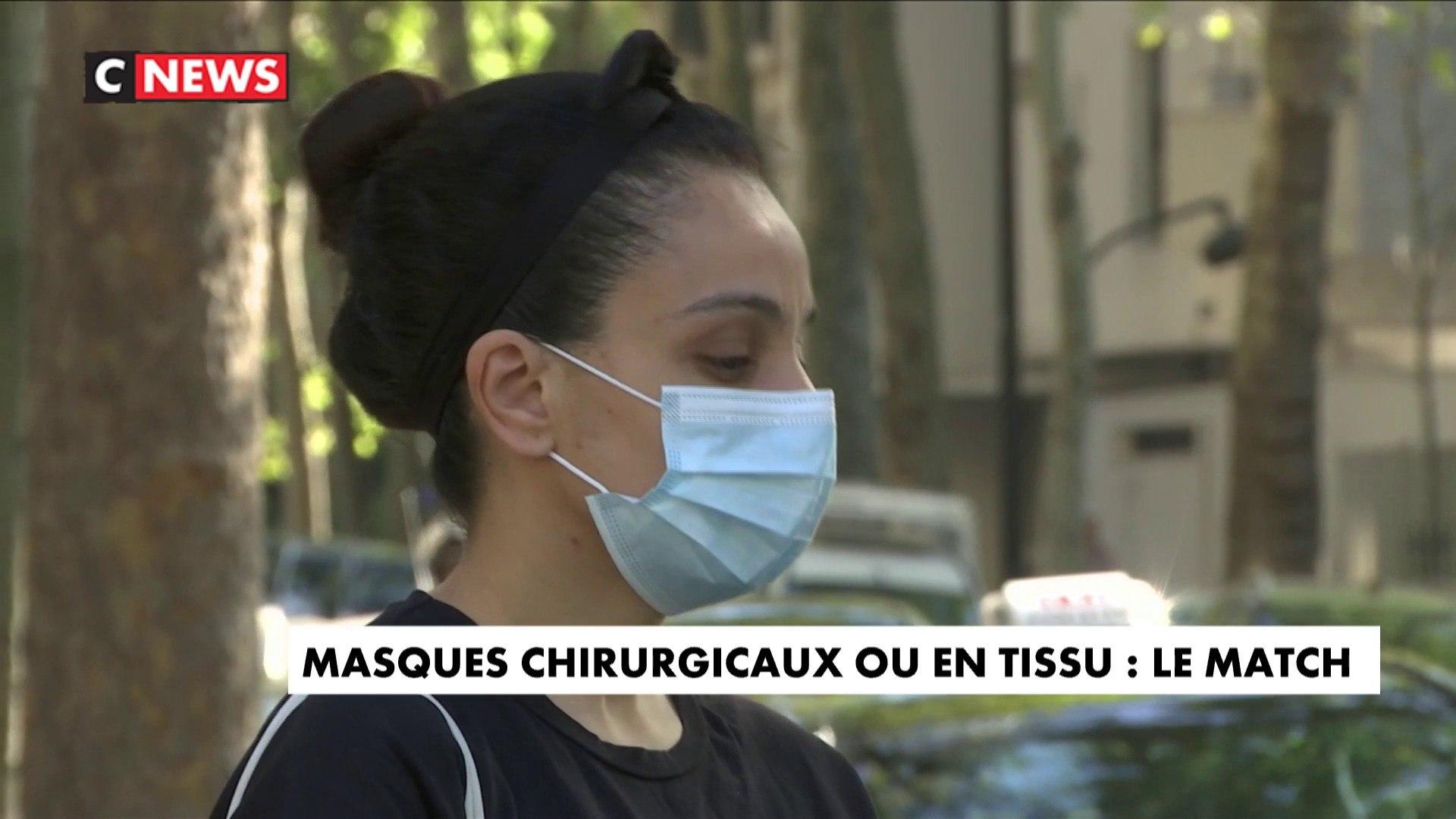 Masque chirurgical ou en tissu : lequel choisir en période de canicule ?