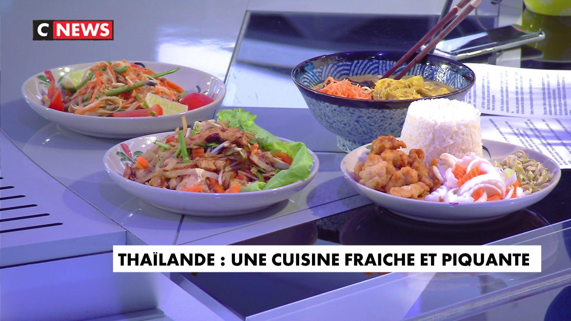 La cuisine thaï sur les tables françaises