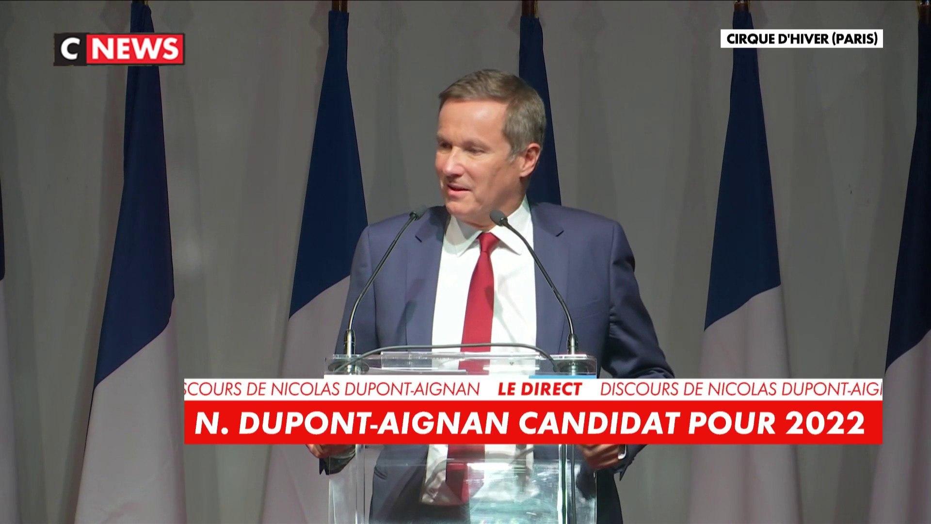 «Voulez-vous continuer à subir ?» : Nicolas Dupont-Aignan, candidat à la présidentielle 2022