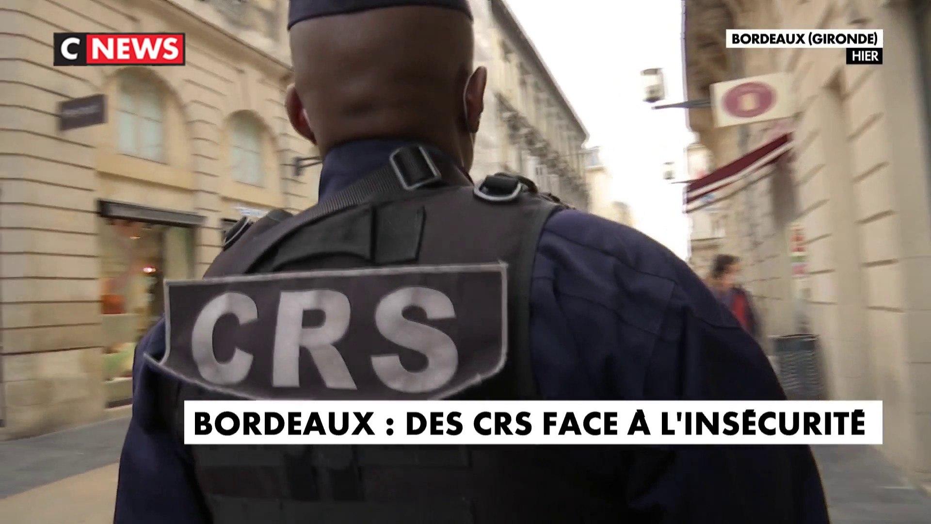 Bordeaux : les CRS mobilisés pour contrer l'insécurité