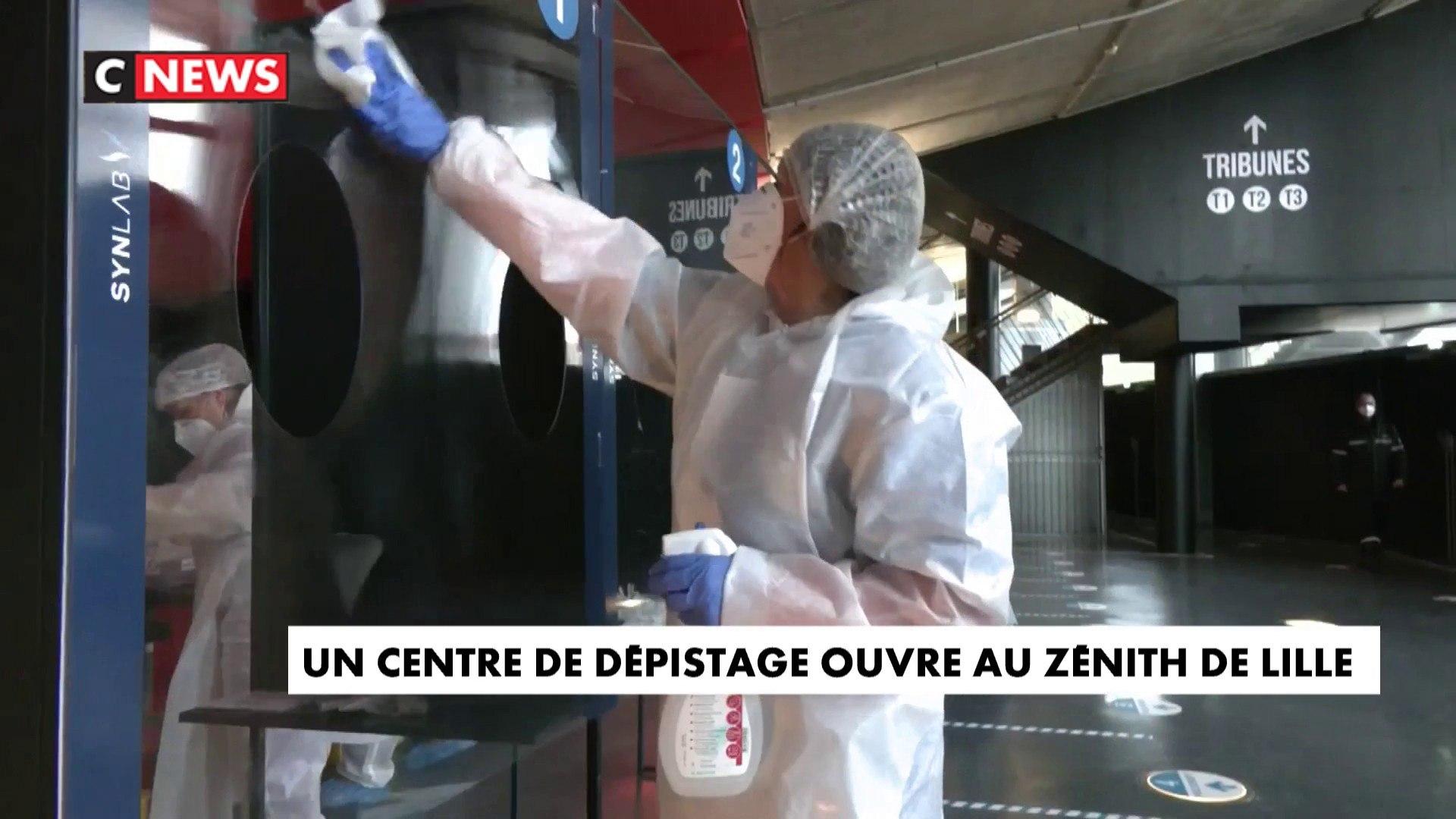 Dépistage du Covid-19 : un centre ouvre au Zénith de Lille