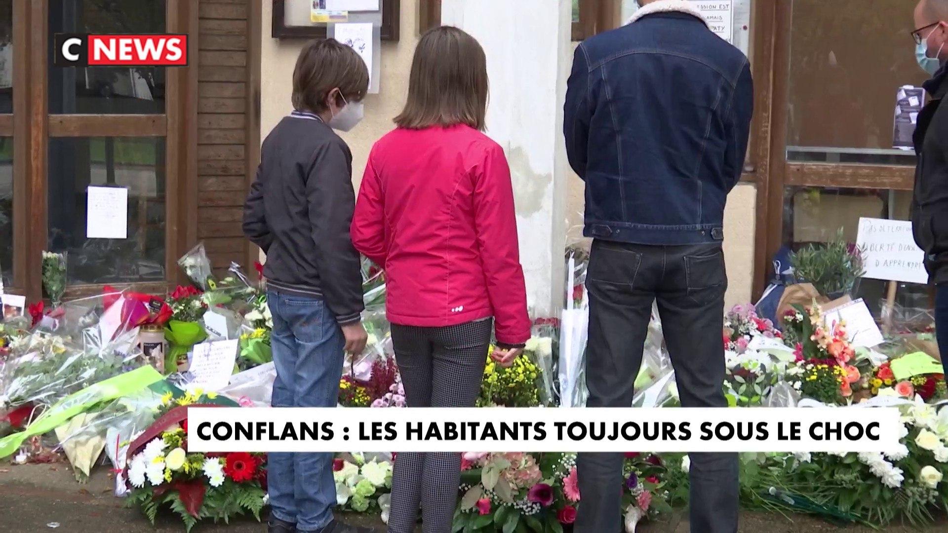 Attentat de Conflans-Sainte-Honorine : les habitants encore sous le choc