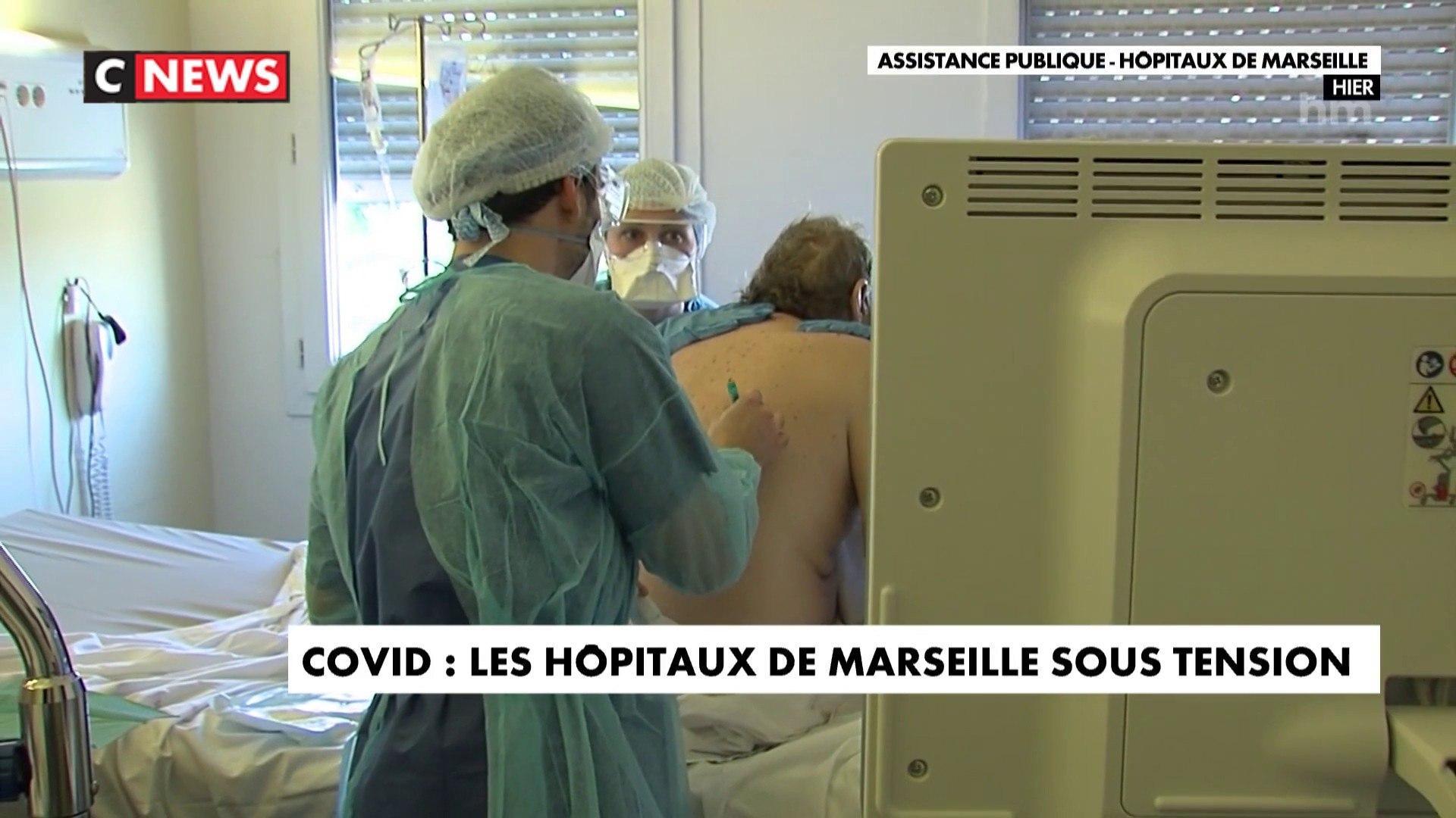 Coronavirus : les hôpitaux de Marseille sous tension