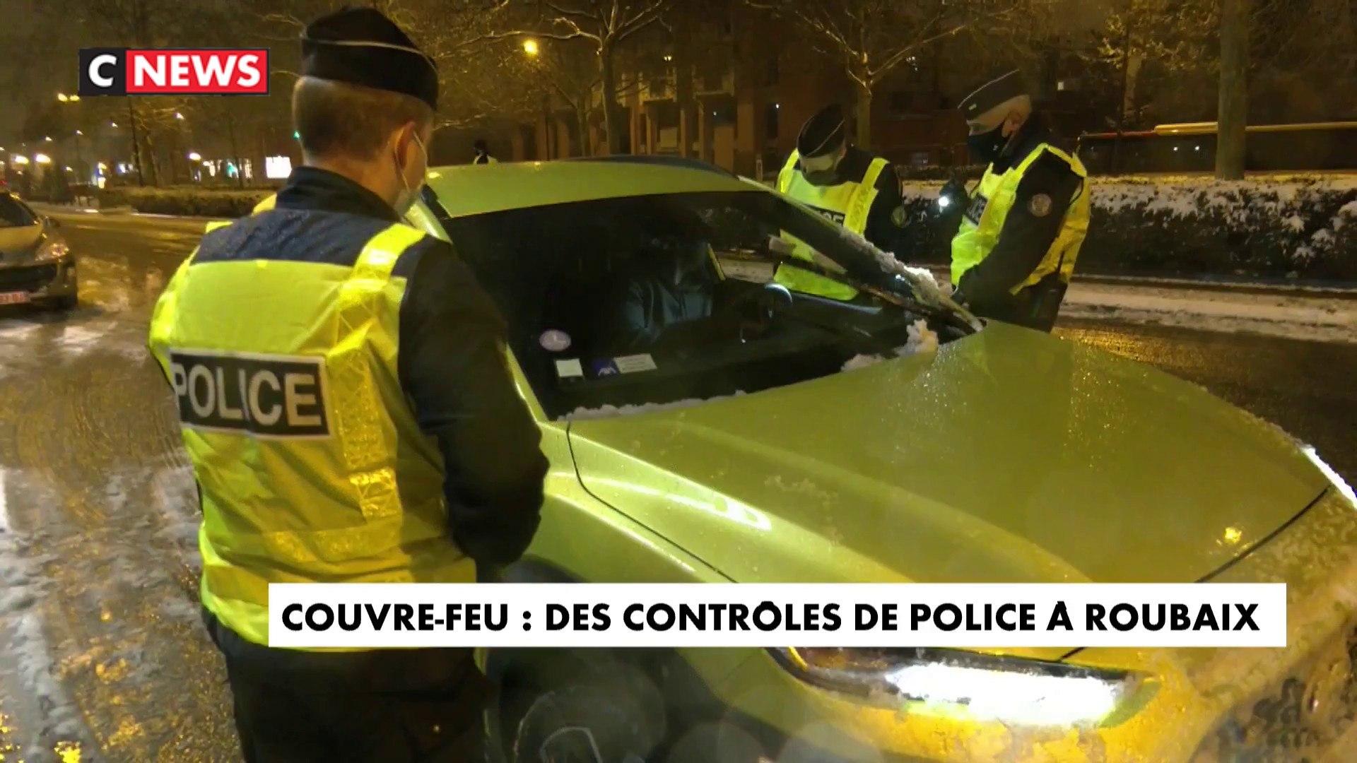 Couvre-feu : des contrôles de police à Roubaix