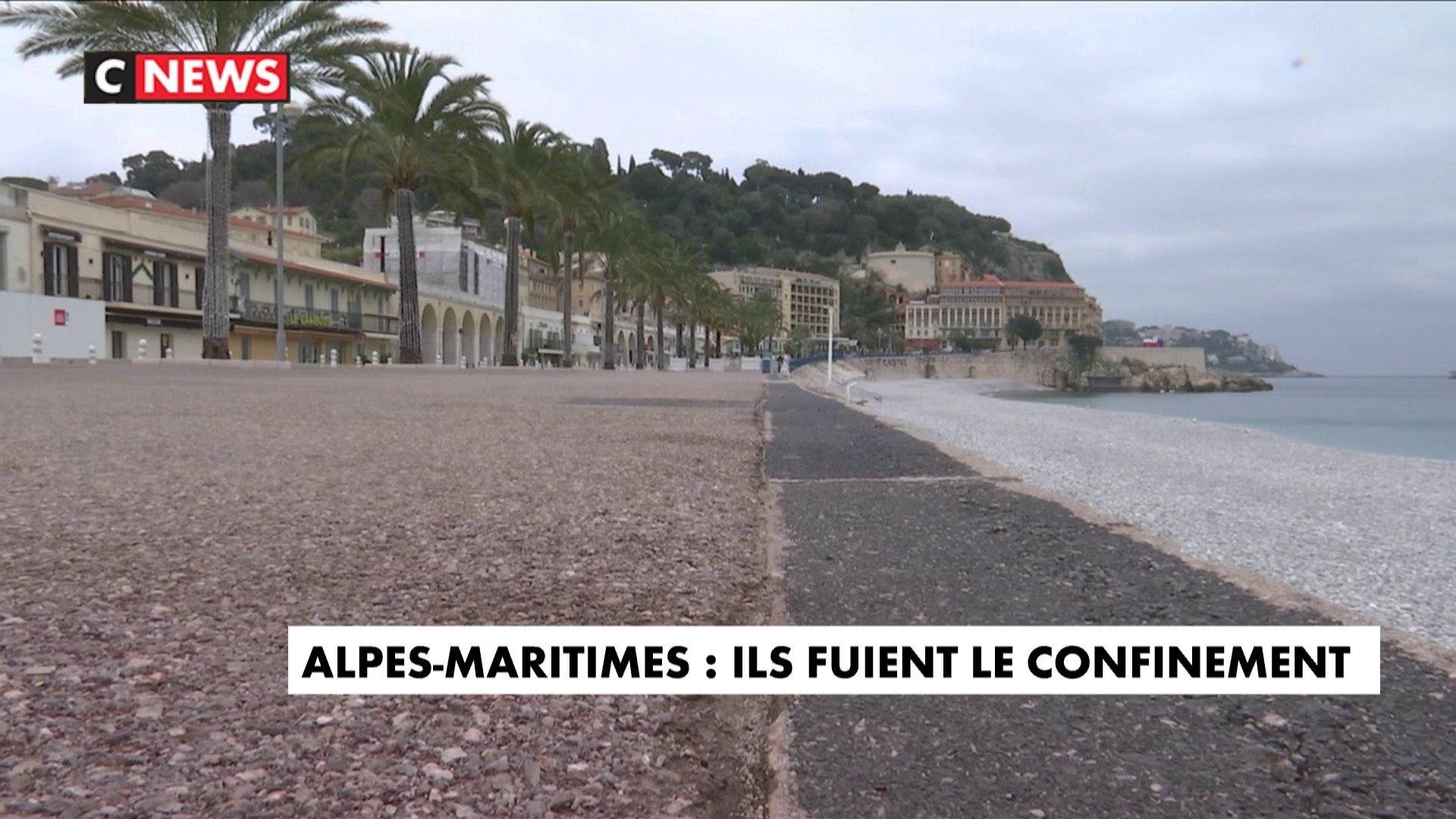 Alpes-Maritimes : ils fuient le confinement