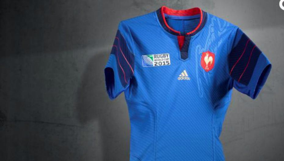 XV de France   le maillot du Mondial dévoilé  98b3cf72803