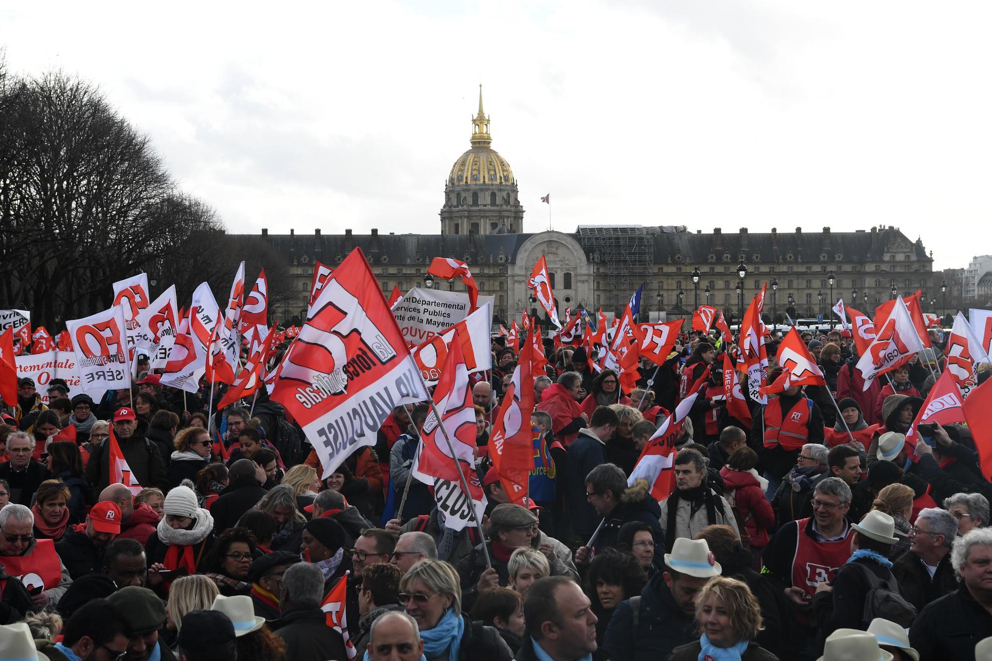 5afcf17c851 Fonction publique   appel à la grève le 9 mai contre la réforme ...