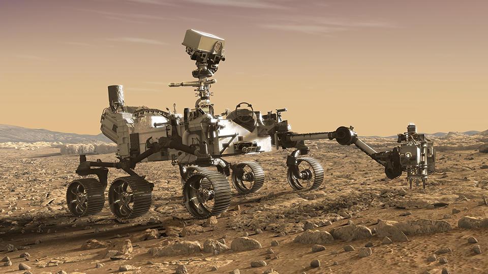 Le rover Perseverance de la Nasa a atterri sur Mars - CNEWS