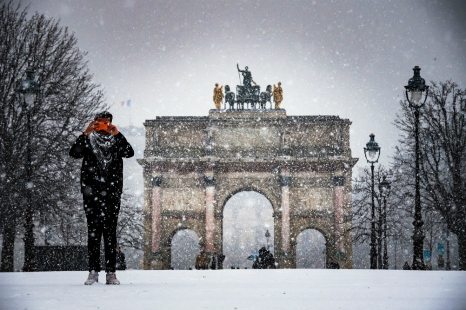 Neige A Paris Le Dispositif En Chiffres Cnews