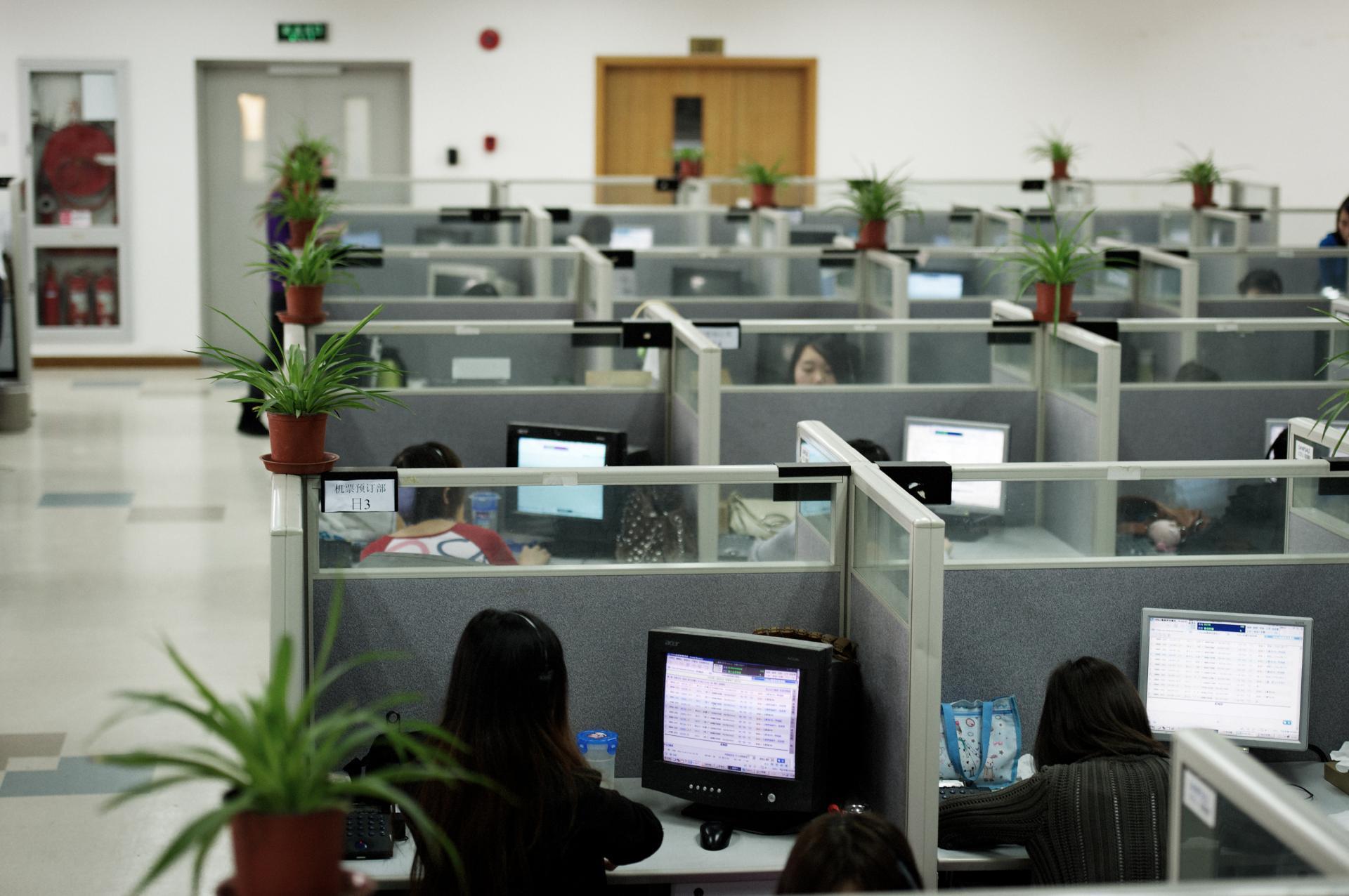 Travailler en open space nuirait à la productivité cnews