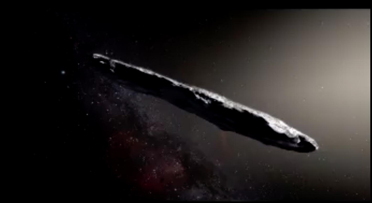 Un objet spatial pourrait être une sonde extraterrestre, selon des astronomes de Harvard