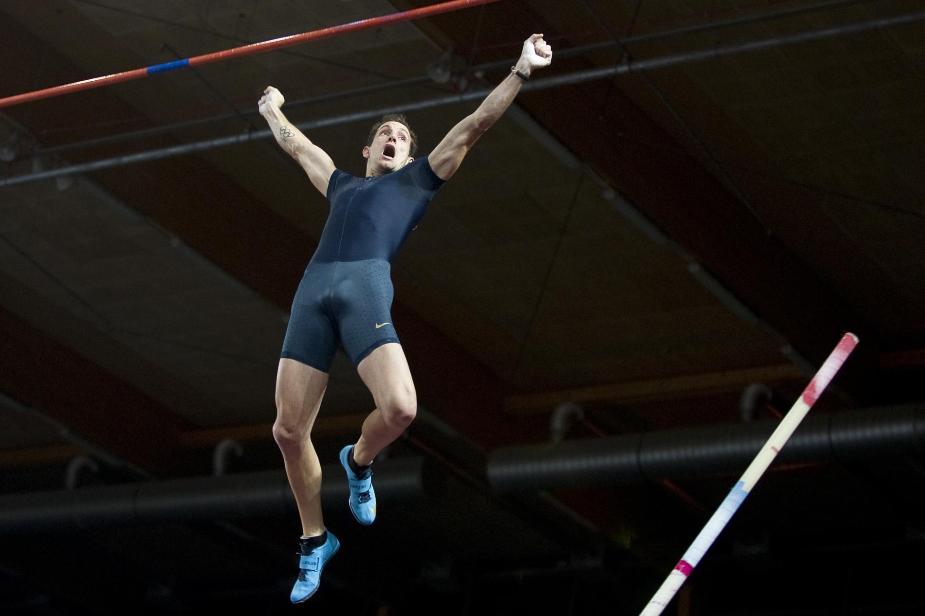 Atletismo salto con garrocha 2018
